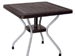 میز پایه فلزی حصیربافت ناصر پلاستیک 623