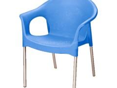 صندلی پایه فلزی دسته دار ناصر پلاستیک 990