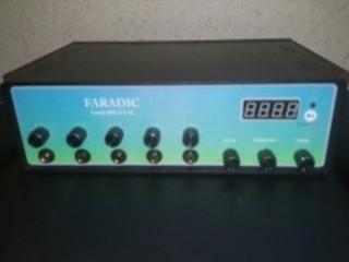 دستگاه فیزیوتراپی توتال 5 کانال | دستگاه فیزیوتراپی توتال دارای 5 کانال و 10الکترود دارای فرکانسهای تنس فارادیک و اف ای اس