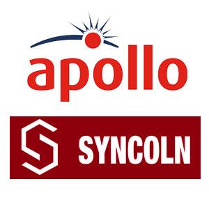 لیست پارت نامبر محصولات آپولو و سینکولن