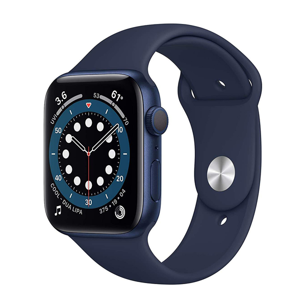 ساعت هوشمند اپل سری 6 مدل Aluminum Case 44mm / (آبی - Blue)