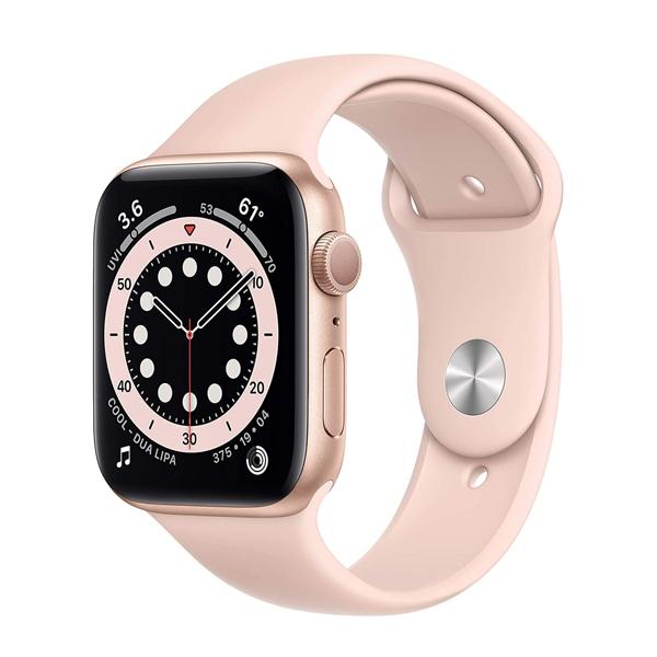 ساعت هوشمند اپل سری 6 مدل Aluminum Case 44mm / (طلایی - Gold)