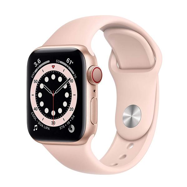 ساعت هوشمند اپل سری 6 مدل Aluminum Case 40mm / (طلایی - Gold)