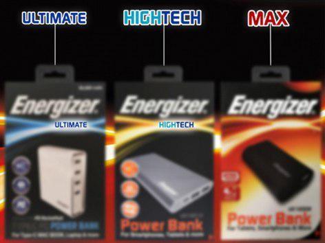 کلمات Ultimate , Hightech روی پاور بانک های انرجایزر نشانه چیست؟