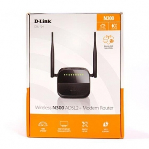 مودم روتر +ADSL2 بیسیم دی لینک مدل DSL-124