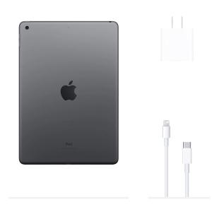 تبلت اپل مدل iPad 10.2 inch 2020 4G/LTE ظرفیت 128 گیگابایت / گری
