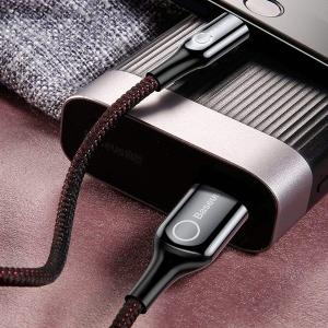 کابل تبدیل USB به لایتنینگ 1 متری باسئوس ACPCL-01