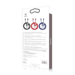 کابل تبدیل USB/ microUSB / لایتنینگ بیسوس مدل CAML-SU13 طول 1.2 متر