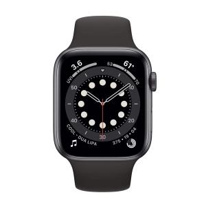 ساعت هوشمند اپل سری 6 مدل Aluminum Case 44mm / (مشکی - Black)