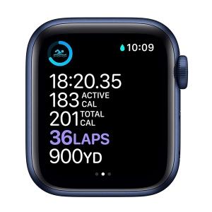 ساعت هوشمند اپل سری 6 مدل Aluminum Case 40mm / (مشکی - Black)