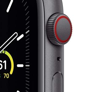 ساعت هوشمند اپل واچ سری SE مدل 44mm Aluminum Case / (مشکی - Black)