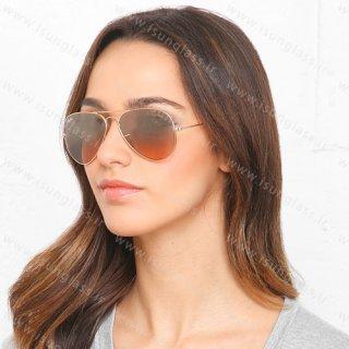 عینک آفتابی ریبن 3025 rayban قهوه ای