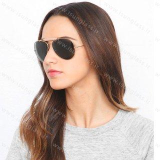 عینک ریبن ray-ban Outdoorsman فریم طلایی