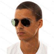 عینک آفتابی خلبانی ریبن مشکی rayban
