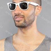 عینک آفتابی مردانه ریبن ویفری سفید