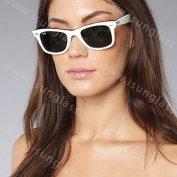 عینک آفتابی ریبن wayfarer سفید