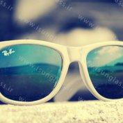 عینک ویفری سفید رنگ