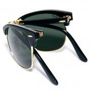 خرید اینترنتی عینک آفتابی ریبن تاشو Rayban Folding Clubmaster Sunglasses