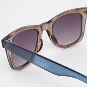 خرید اینترنتی عینک آفتابی ریبن ویفری دسته آبی River Island Wayfarer