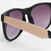 فروش عینک آفتابی ویفری ASOS Wayfarer Sunglasses with Metal Arm