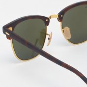 خرید اینترنتی عینک آفتابی ریبن آبی Ray-Ban Clubmaster