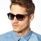 عینک آفتابی ویفری ASOS Angled Wayfarer