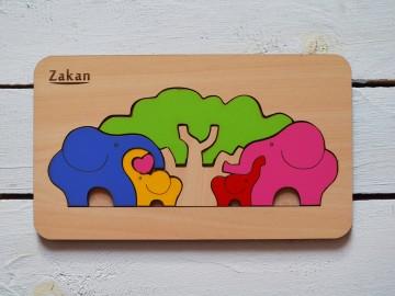 پازل فیل زاکان