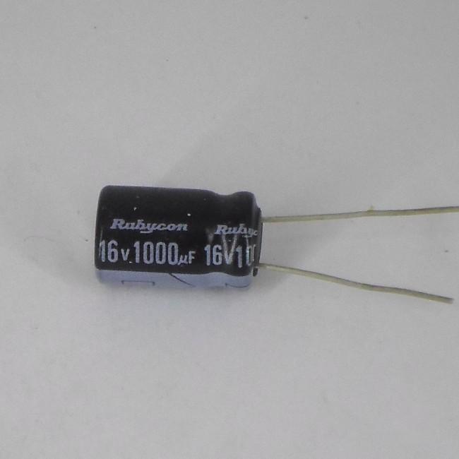 خازن 1000 میکروفاراد 16 ولت (10 عدد)