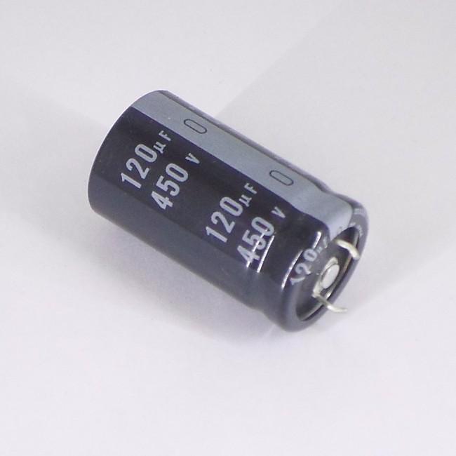 خازن 120 میکروفاراد 400 ولت