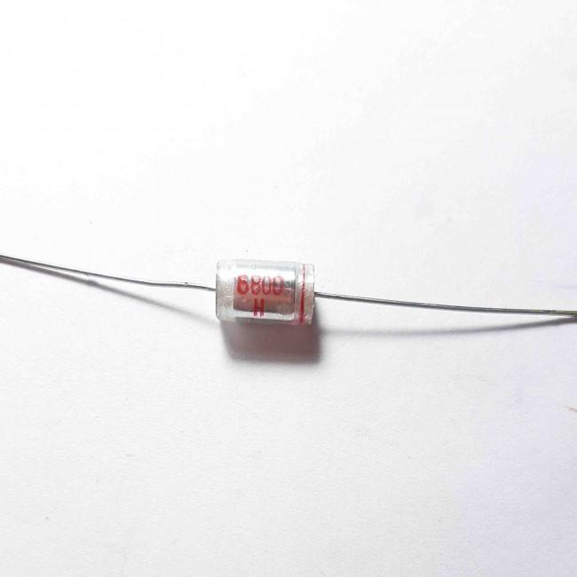 خازن پلی استر %3± 6.8nF 63V  (بسته 10 عددی)