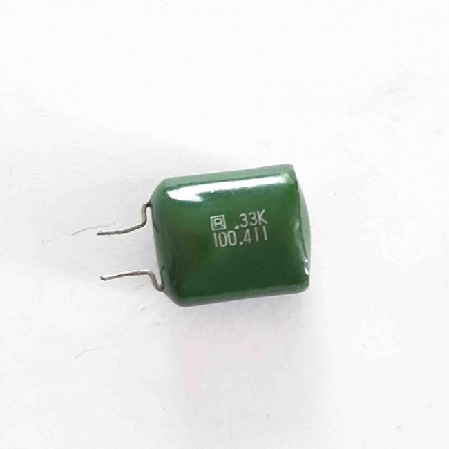 خازن پلی استر 330nF100V ±10% (بسته 10 عددی)