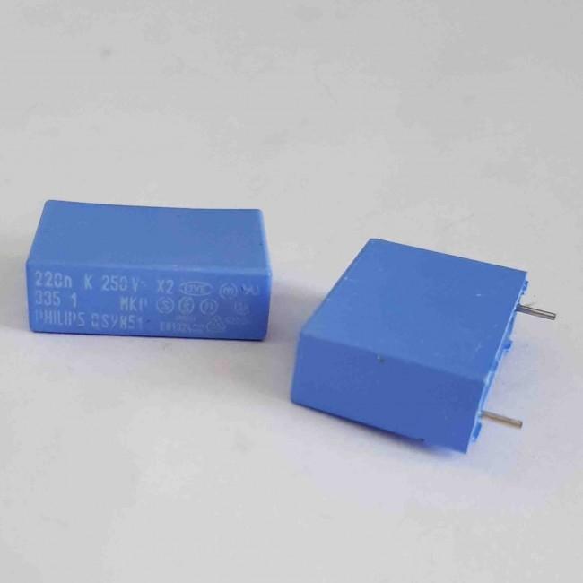خازن ام کا پی MKP 220nF 250V ±10%