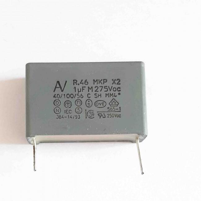 خازن ام کا پی MKP 1uF 275V ±20%