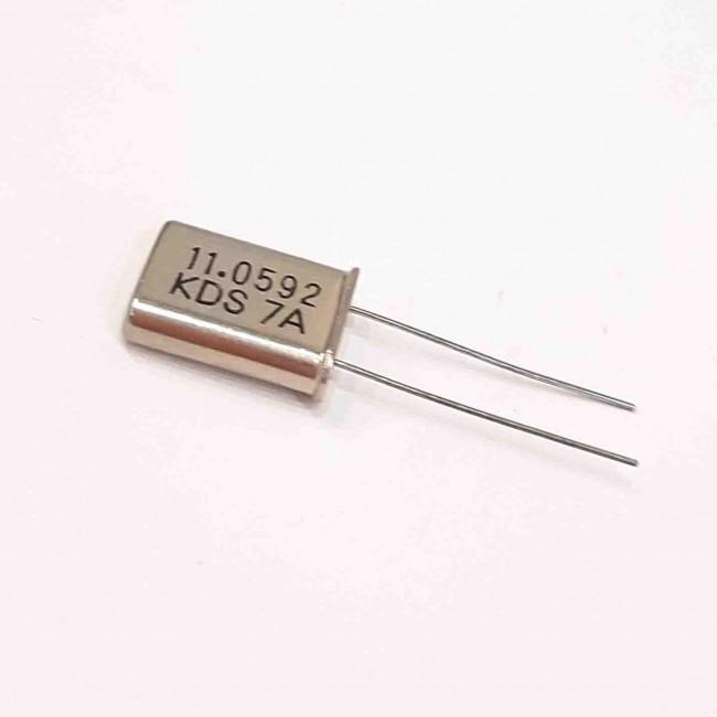 کریستال 11.0592MHZ پایه دار، بسته بندی HC-49US