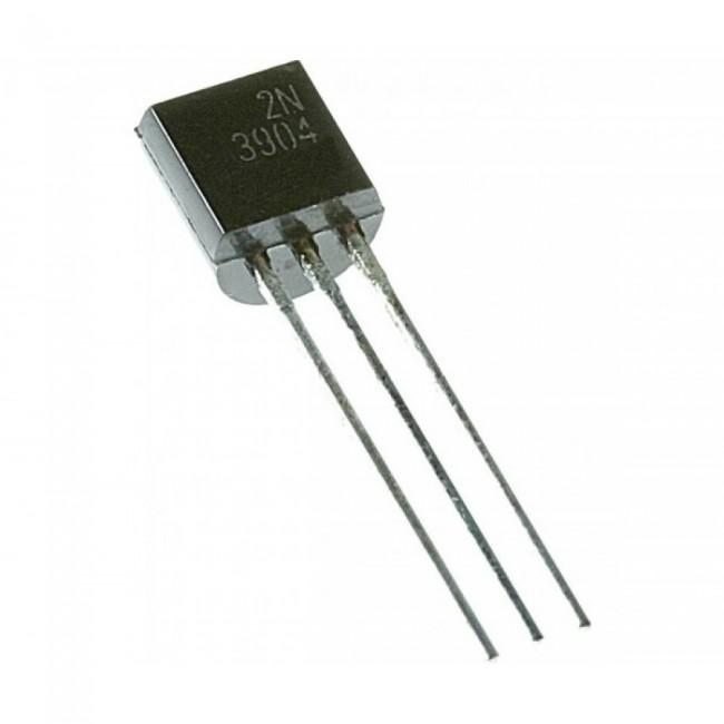 ترانزیستور NPN Transistor ،2N3904 (بسته 5 عددی)