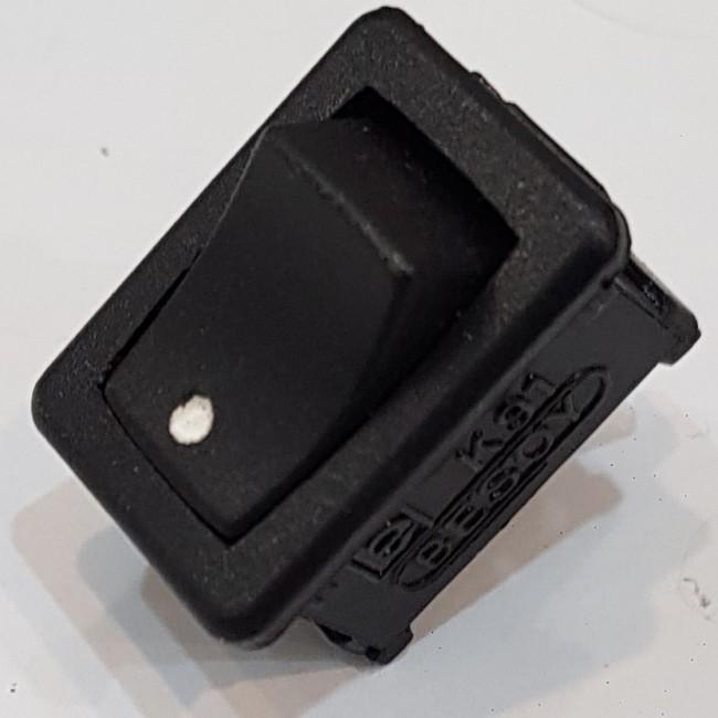 کلید راکر 2 پل 2 کنتاکت 250 ولت، 5 آمپر (15x21)