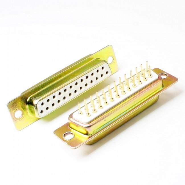 کانکتور DB-25 مادگی روبردی, DB-25 famale straight board mount connector