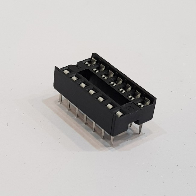 سوکت آیسی دیپ 14 پایه .DIP14 IC Socket