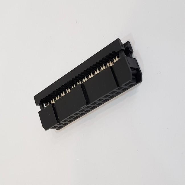 کانکتور آی دی سی 2x14 مادگی 2.54 میلیمتر،, IDC Connector, 2x14, Female 2.54mm Pitch