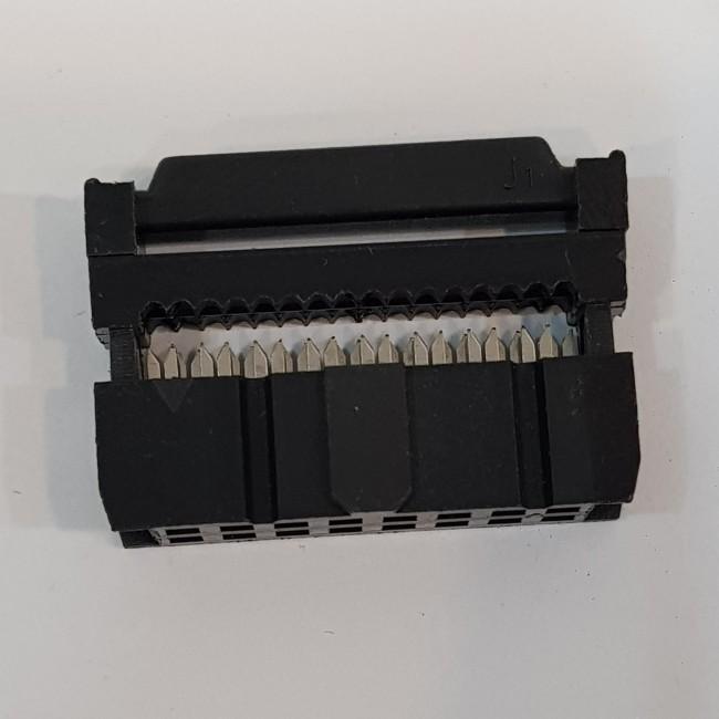 کانکتور آی دی سی 2x8 مادگی 2.54 میلیمتر، IDC Connector, 2x8, Female 2.54mm Pitch