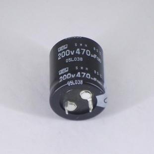 خازن 470 میکروفاراد 200 ولت