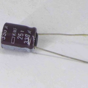 خازن 330 میکروفاراد 25 ولت (10 عدد)