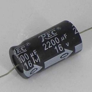 خازن 2200 میکروفاراد 16 ولت
