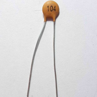 خازن سرامیکی 100nF 50V  (بسته 10 عددی)