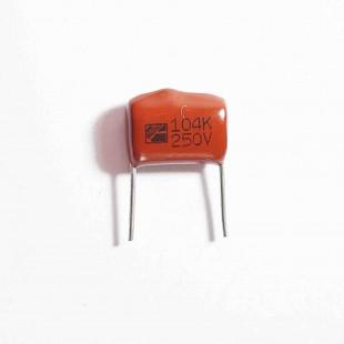 خازن پلی استر 10nF 250V ±10% (بسته 10 عددی)