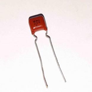 خازن پلی استر 390nF 50V (بسته 10 عددی)