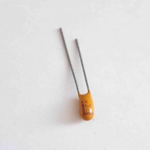 خازن تانتالیوم 6.8 میکروفاراد 25 ولت %10±