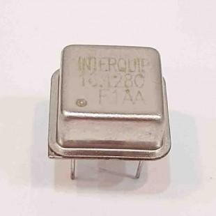 کریستال اسیلاتور  16.128MHZ پایه دار مربعی، بسته بندی DIP8