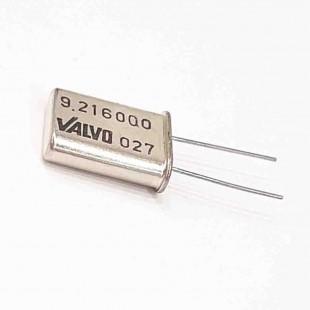 کریستال 9.216000MHZ پایه دار، بسته بندی HC-49U