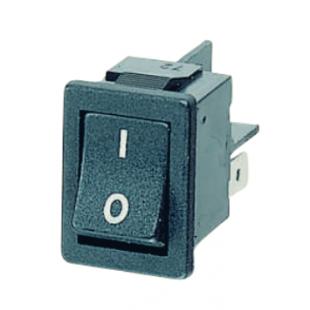 کلید راکر 2 پل 2 کنتاکت 250 ولت، 10 آمپر (15x21)